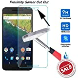 Kohinshitsu Platinum Series Screen Guard - Tempered Glass Screen Protector for Google Nexus 6P / Huawei Nexus 6P / Nexus 6P Mobile Phone 2015 Model