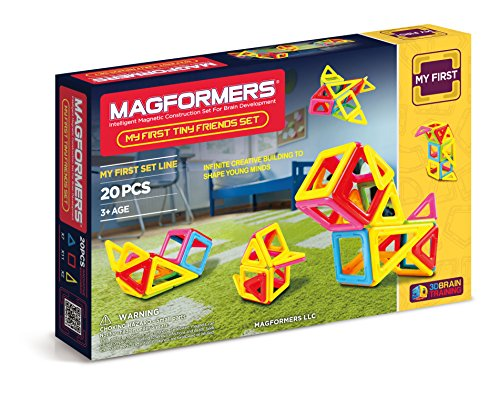 Magformers Tiny Friends 20 Pieces, Educational Magnetic Tiles Building STEM Toy Set Only $15.45 (Was $34.99)