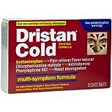 Dristan Cold Tabs Size 20s Dristan Multi-Symptom Cold Relief Tablets