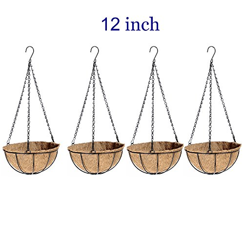 wire basket with pots - 3
