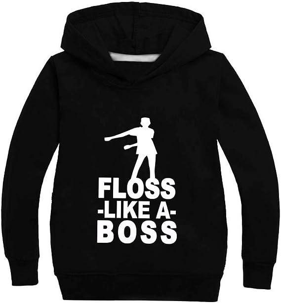 HOODIE Unisex Men YOUTH boys FLOSS like a BOSS Game Funny Fleece Swetar S-5XL