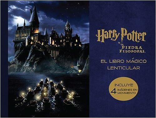 El libro mágico lenticular de Harry Potter y La piedra filosofal ...