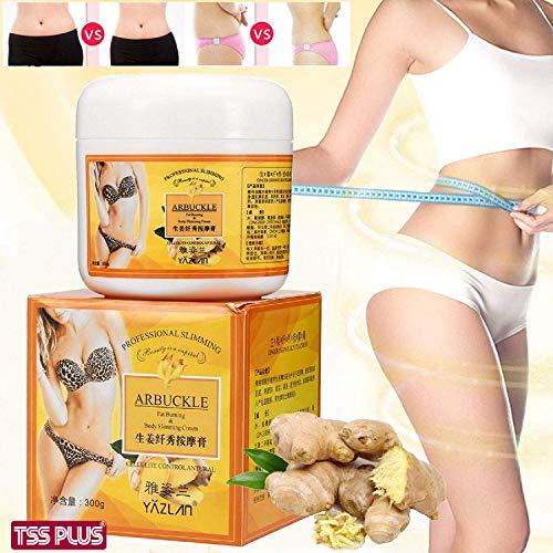 TSSPLUS Ginger Fat Burning Anti-cellulite Full Body Slimming Cream 300g Gel Weight Loss,anti cellulite cream fat burning,fat burning belly cream,ginger fat burner