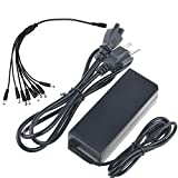 Digipartspower 12V 5A Ac Adapter for Samsung SDH Series 8 Channels DVR Security Cam CCTV System Digital