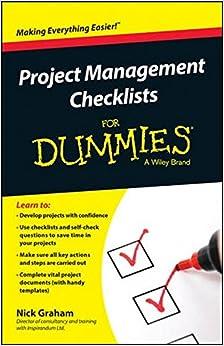 Amazon.com: Project Management Checklists For Dummies ...