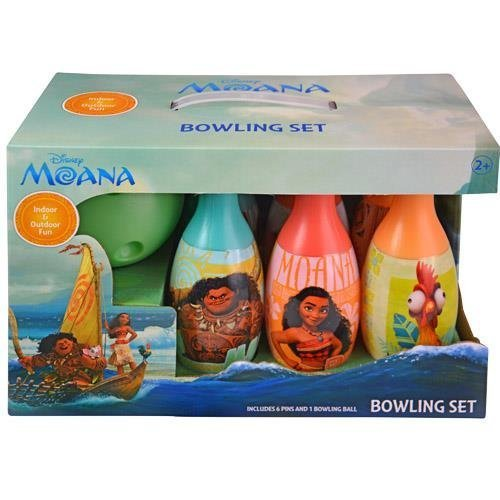 Brand New Disney Frozen Elsa Anna Olaf Bowling Set Boys Girls