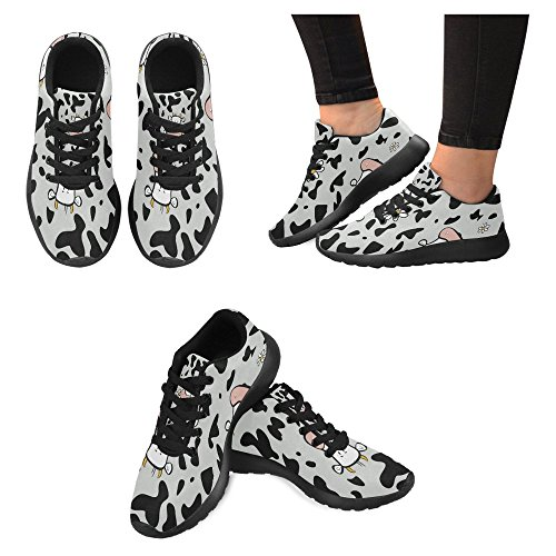 InterestPrint Womens Jogging Running Sneaker Lightweight Go Easy Walking Casual Comfort Sports Running Shoes Multi 8 KhrLqXh