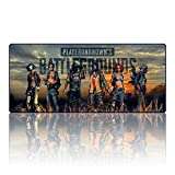PUBG Gaming Mouse Pad Extended Professional XXL Large Computer Game Keyboard Mat for PLAYERUNKNOWN'S BATTLEGROUNDS (27.6x11.8x0.1IN) (001)
