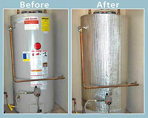 "Water Heater Blanket Insulation, ""NON FIBERGLASS"", Fits u..."