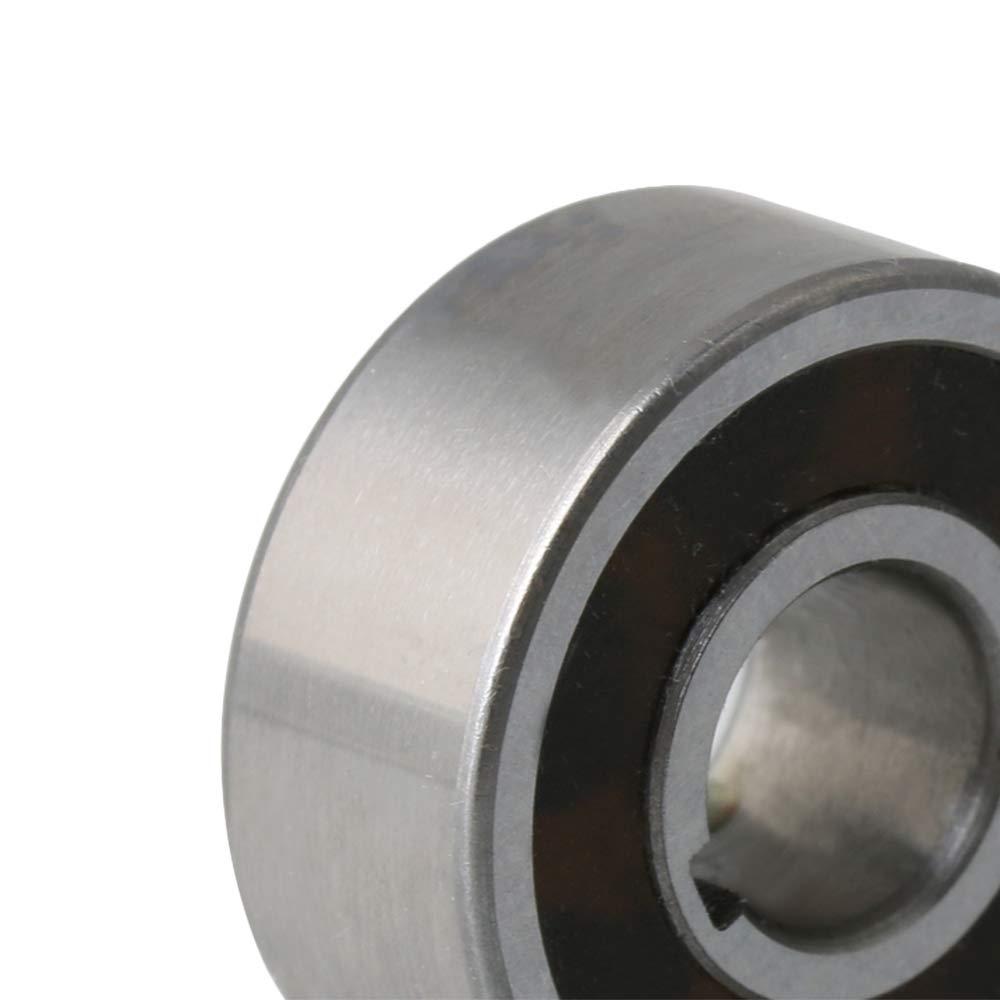 BQLZR 8x22x9mm Slot Width 2mm 2mm CSK8PP Bearing Steel One Way Bearing with Internal /& External Keyways Sprag Freewheel Backstop Clutch