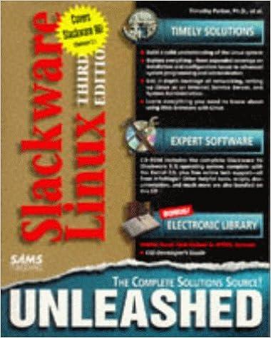 Slackware Linux Unleashed