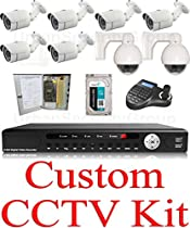 USG Custom CCTV Kit: 1x LS9608U * 6x LBH36SSV * 2x LPTM12XCG * 1x SDK65 * 1x 2TB HDD * 1x W-9CH10A Power Supply Box