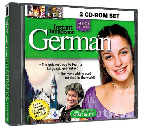 Instant Immersion German 2 CD-ROM Set (Jewel Case)
