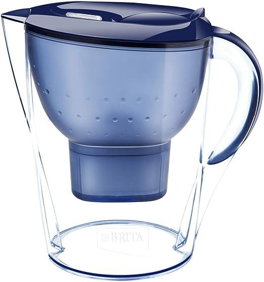Jarra purificadora de agua fría de 3,5 l con filtro de agua azul ...