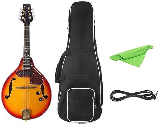 Guitarras Clásicas 8 Cuerdas Puesta del Sol del Color de la ...