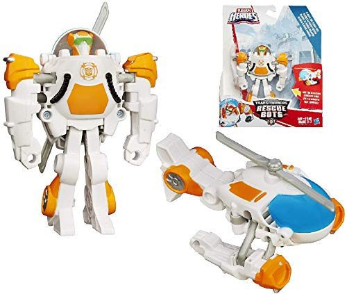 """Transformers Rescue Bots Rescan Blades The Flight Bot to Helicopter Rescue Heroes 4.5"""""""