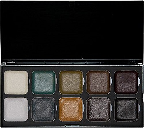 EBA Encore UNDEAD Palette - Alcohol Activated! Professional Full Size - Waterproof Makeup - by European Body Art]()