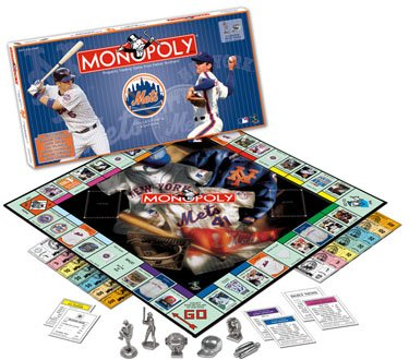 NY Monopoly Bundle - Featuring NY Mets and NY Yankees Collector's Edition Monopoly Games!
