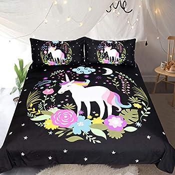 Amazon Com Sleepwish Unicorn Bedding For Children Girls 3