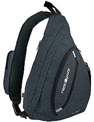 Versatile Canvas Sling Bag / Travel Backpack   Wear Over Shoulder or Crossbody