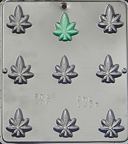 Marijuana Leaf Pot Chocolate Candy Mold - Other Candy Molds