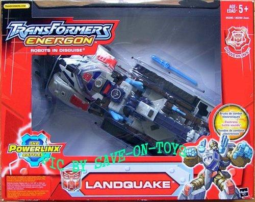 Transformers Energon The Powerlinx Battles Figure: Landquake