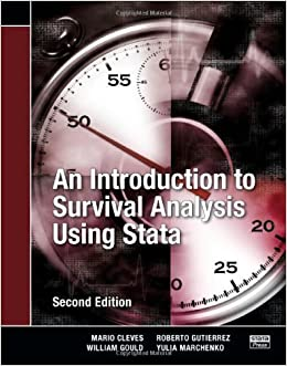 An Introduction to Survival Analysis Using Stata, Second Edition by Mario Cleves (2008-05-15)