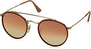 8ced64524 Ray-Ban Women's Round Aviator Flash Sunglasses
