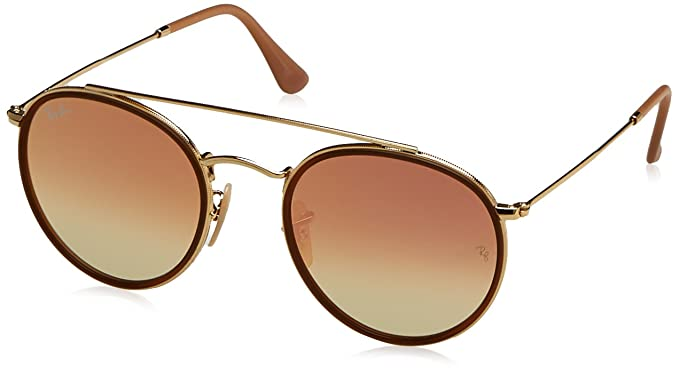 Ray-Ban Unisex s Rb 3647N Sunglasses, Gold, 51  Amazon.co.uk  Clothing 00c38fe3ac