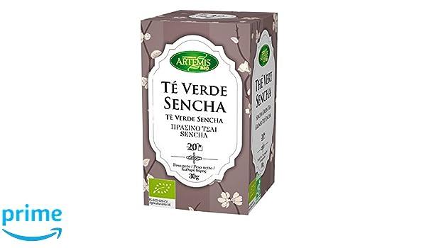 ArtemísBio Té Verde Senchá - 4 Paquetes de 20 unidades: Amazon.es: Alimentación y bebidas