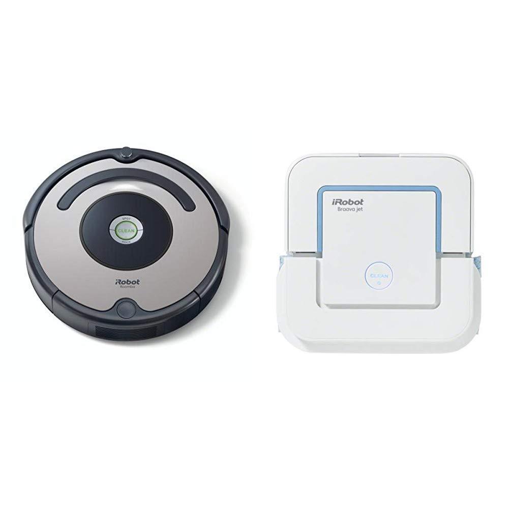 iRobot - Set con Roomba 615 Robot Aspirador para Suelos Duros y ...