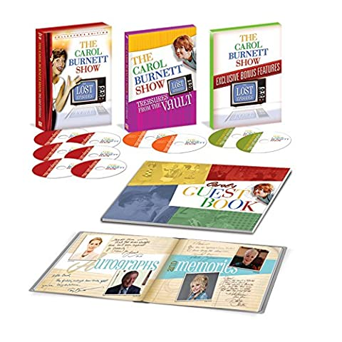 The Carol Burnett Show: The Lost Episodes (10-DVD Collection) by Time Life - Collector's Edition - Official TV (Dvd Carol Burnett)