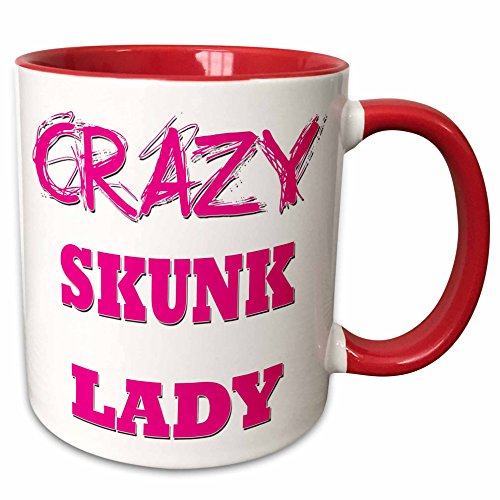 Crazy Skunk Lady Mug