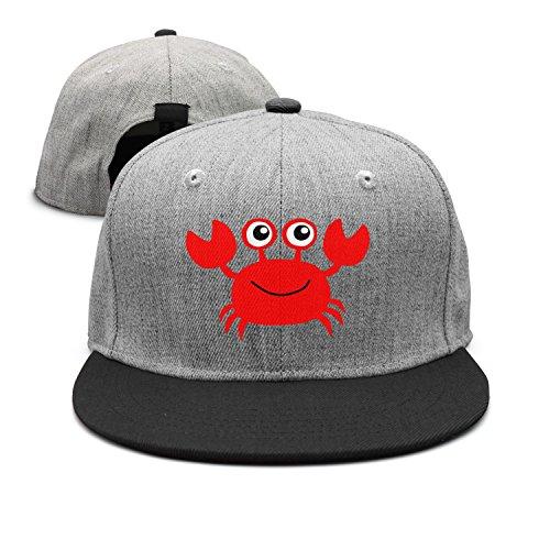 Cute Cartoon Red Crab Cool Design Hip Hop Hat Caps