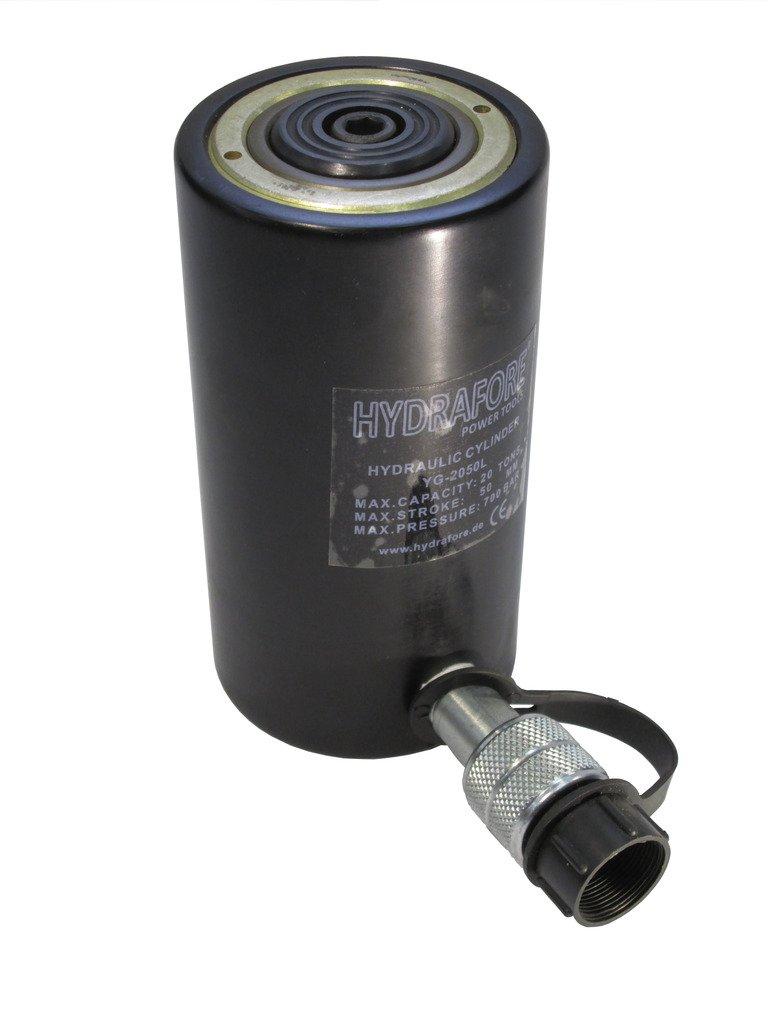 hydrafore Cric hydraulique en aluminium Roue (20 ton, 50 mm) 50mm)