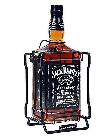 Botella de Jack DanielS 3 litros con Balancin