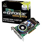 eVGA e-GeForce 6800 Ultra, 256MB DDR3, Dual DVI/TV-Out, AGP 8x (256-A8-N345-AX)