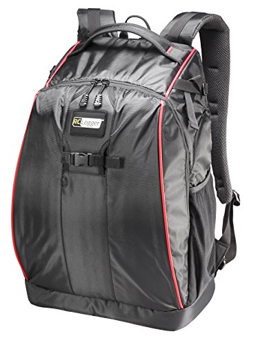 RC Logger Waterproof Nylon Backpack with Fully Customizable Inside for 350-sized Drones and Cameras...