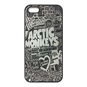 Rock band Arctic Monkey Hard Plastic phone Case Cover For Apple Iphone 5 5S Cases ART136617