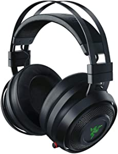 Razer Nari Wireless: THX Spatial Audio - Cooling Gel-Infused Cushions - 2.4GHz Wireless Audio - Gaming Headset Works for PC, PS4, Switch & Mobile Devices (Renewed)