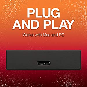 Seagate Backup Plus Portable 4TB External Hard Drive HDD Black USB 3.0, 1 year MylioCreate, 2 Months Adobe CC…