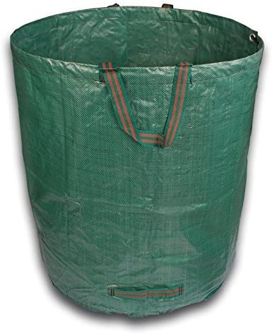 XXL Bolsas de basura de jardín hojas Saco jardín Saco de basura 270 L: Amazon.es: Jardín