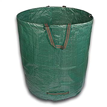 XXL Bolsas de basura de jardín hojas Saco jardín Saco de ...