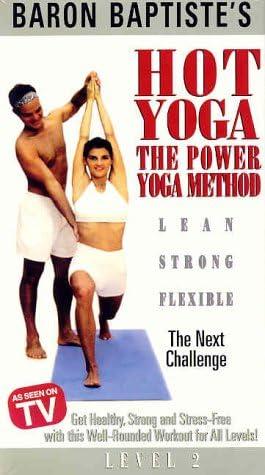 Amazon Com Baron Baptiste S Hot Yoga The Power Yoga Method Level 2 The Next Challenge Vhs Baptiste Baron Movies Tv