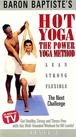 Amazon.com: Baron Baptistes Hot Yoga: The Power Yoga Method ...