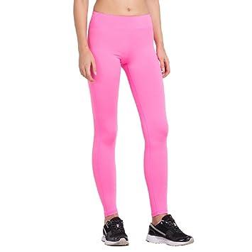 05b41536997922 Vansydical Women's Compression Yoga Pants Sexy Hips Solid Leggings Yoga  Pants Quick Dry Elastic Trousers-