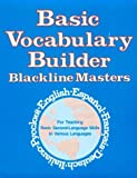 img - for Basic Vocabulary Builder: Blackline Masters (Language - Professional Resources) book / textbook / text book
