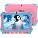 7 inch Android 7.1 Kids Tablet IPS HD Screen 1GB/16GB Babypad Edition PC WiFi Camera Games Google Play Store Bluetooth Supported Kids-Proof Case GMS Certified iRULU Y57 (Pink)