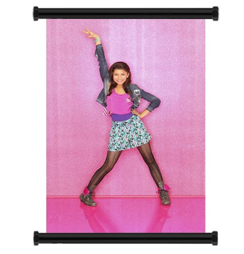 Shake it Up TV Show Zendaya Fabric Wall Scroll Poster (16