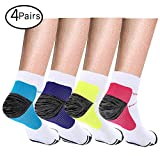 4 Pairs Compression Socks, Compression Sock for